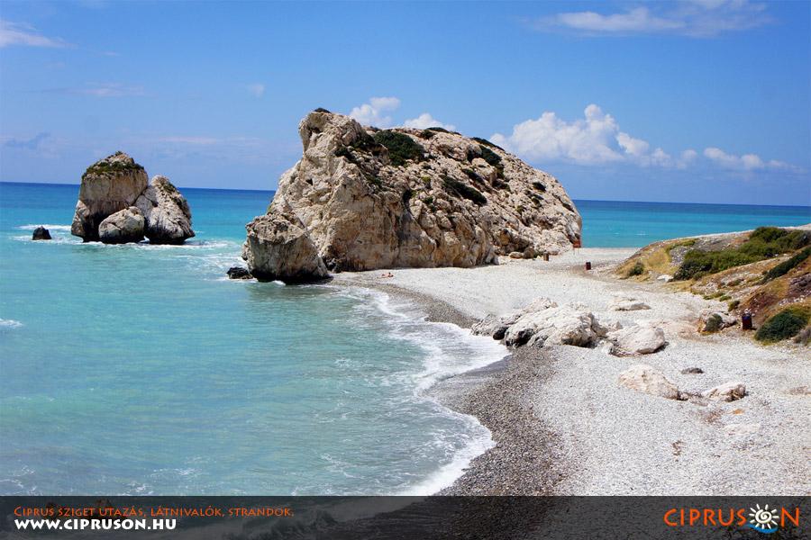 Afrodité sziklái, Ciprus (Petra Tou Romiou)