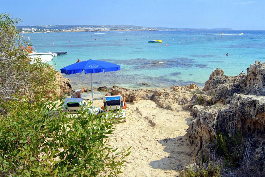 Ayia Napa strand (Makronissos beach)