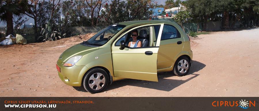 Ciprus autóbérlés