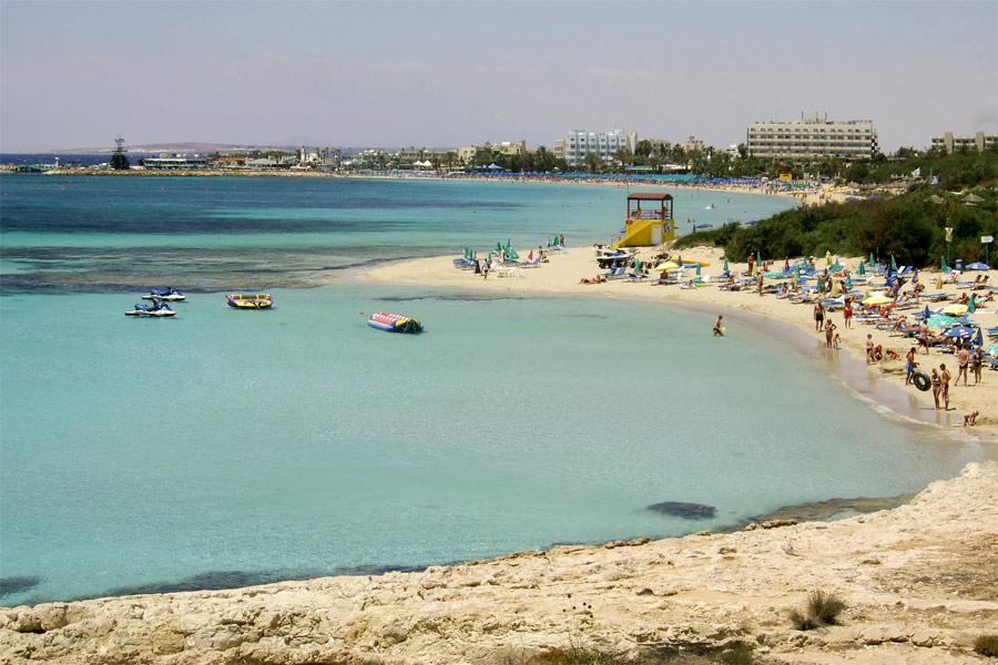 Ayia Napa strand, Ciprus (Limanaki)