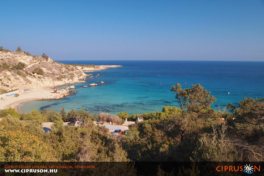 Ciprus legszebb strand, Konnos Protaras