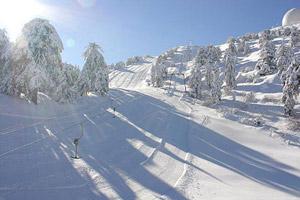 Ciprus síelés, Troodos hegység