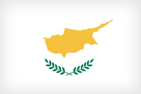 Ciprus nemzeti zászló, lobogó