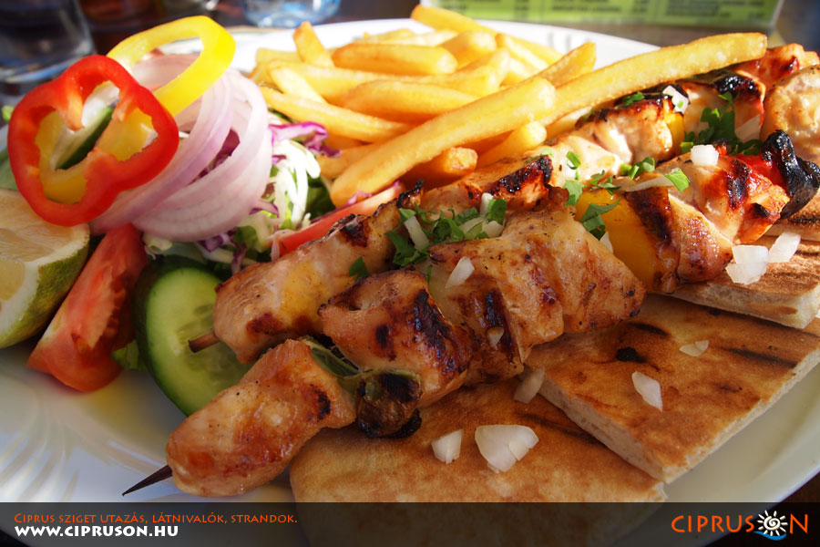 Ciprusi ételek, italok, meze, gasztronomia
