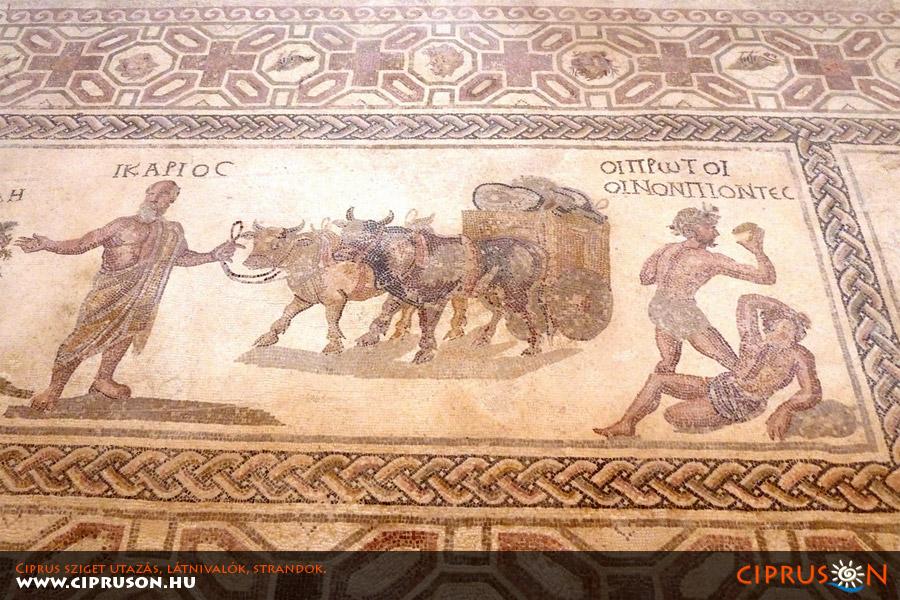 Ciprusi mozaikok, Páfosz