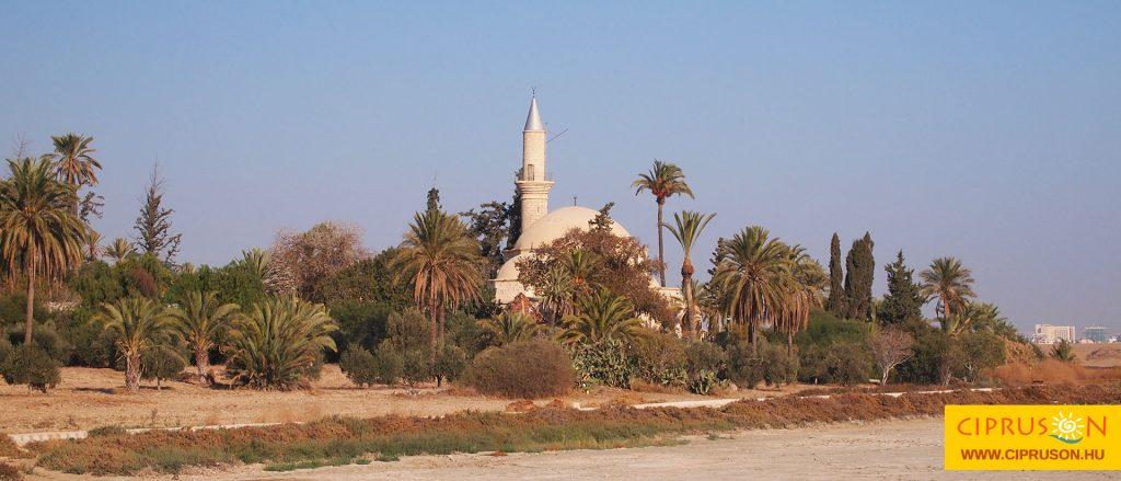 Hala Sultan Tekke mecset, Larnaka