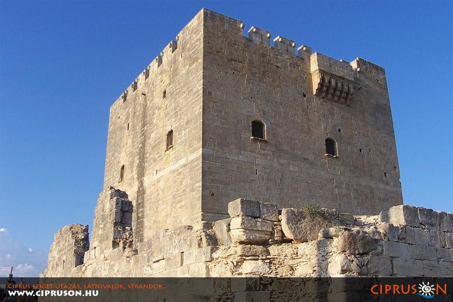 Kolossi vár, Kolosszi kastély Ciprus
