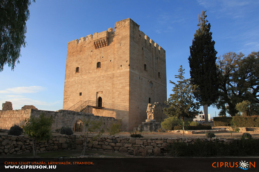 Kolossi vár (Kolosszi kastély), Limassol Ciprus