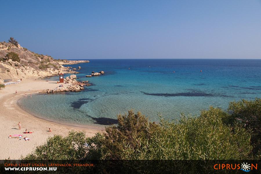 Konnos strand, Protaras, Ciprus | Konnos beach, Cyprus