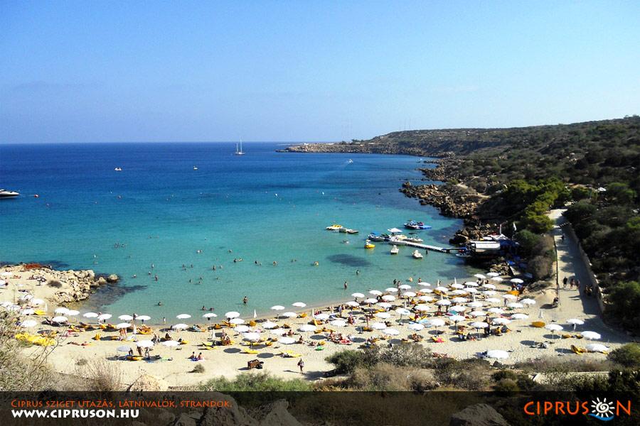 Konnos strand, Ciprus
