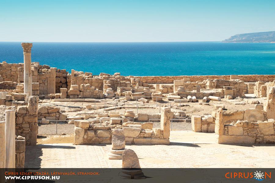 Kourion, Limassol, Ciprus. A sziget egyik legismertebb történelmi látnivalója.