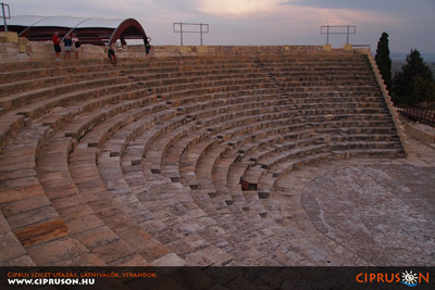 Kourion görög színház, Ciprus