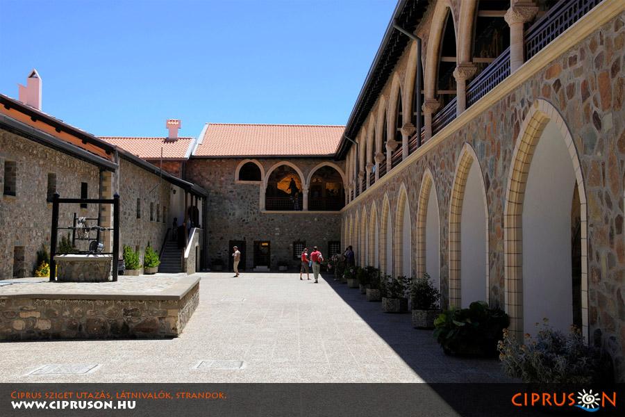 Kykkos kolostor, Ciprus