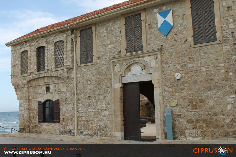 Larnakai tengerparti erőd