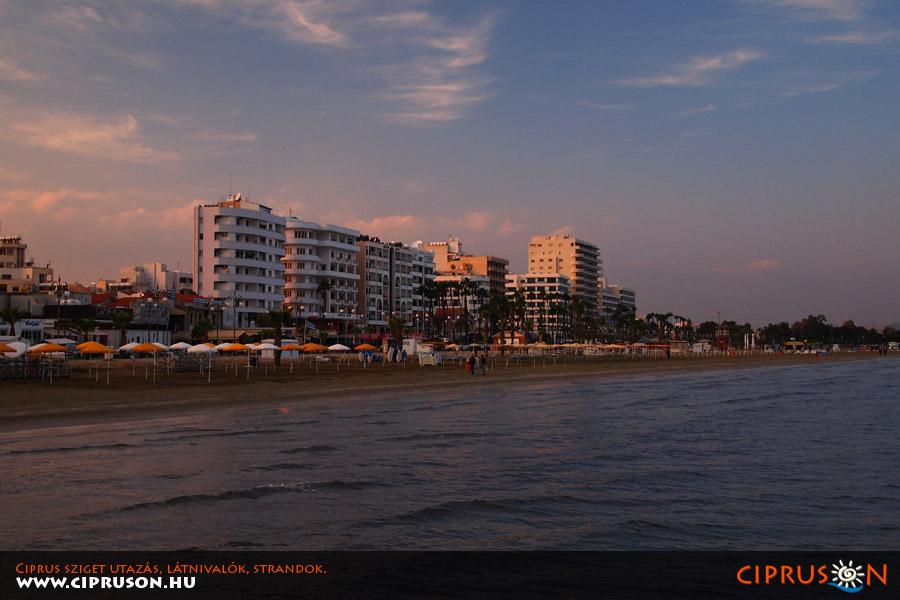 Larnaka strand, Ciprus | Larnaca beach, Cyprus