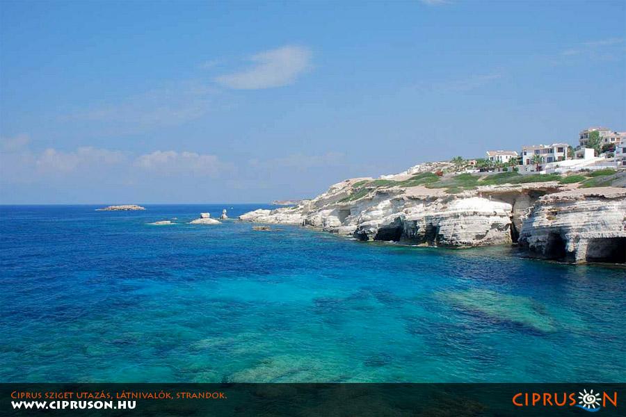 Korall-öböl, Ciprus Pafosz (Paphos)