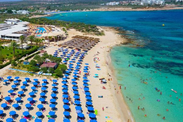 Makronissos beach Agia Napa legjobb strandjai