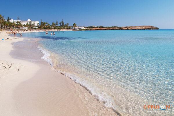 Nissi beach Agia Napa, Ciprus
