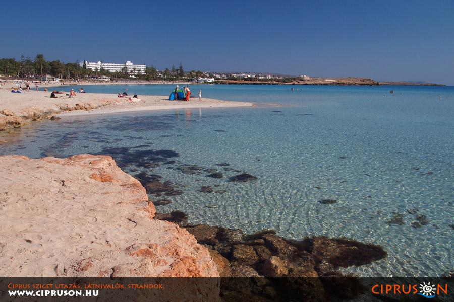Nissi strand, Ciprus | Nissi beach, Cyprus