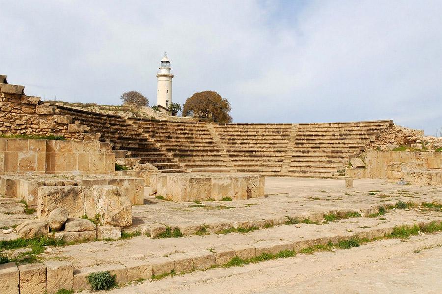 Páfoszi görög színház, Ciprus