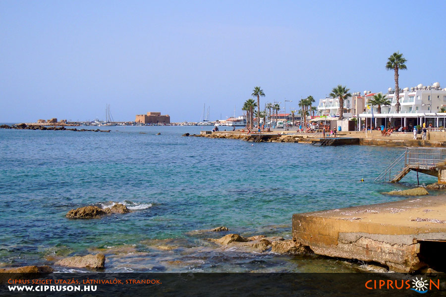 Páfosz, Ciprus tengerpart
