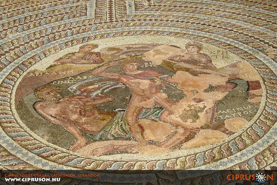 Páfoszi mozaik, Ciprus