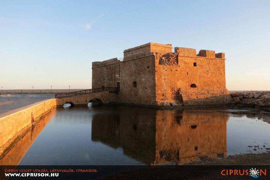 Páfosz tengerparti erőd, Ciprus