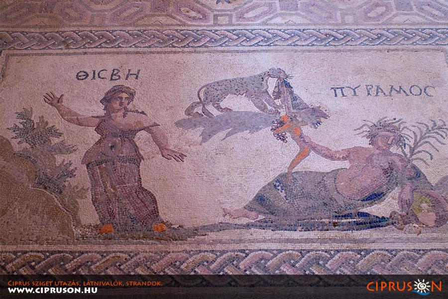Páfoszi mozaikok, Ciprus
