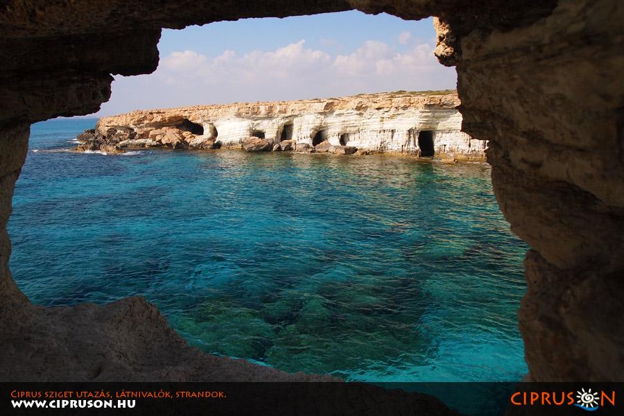 Tengeri barlangok, Sea Caves Ciprus