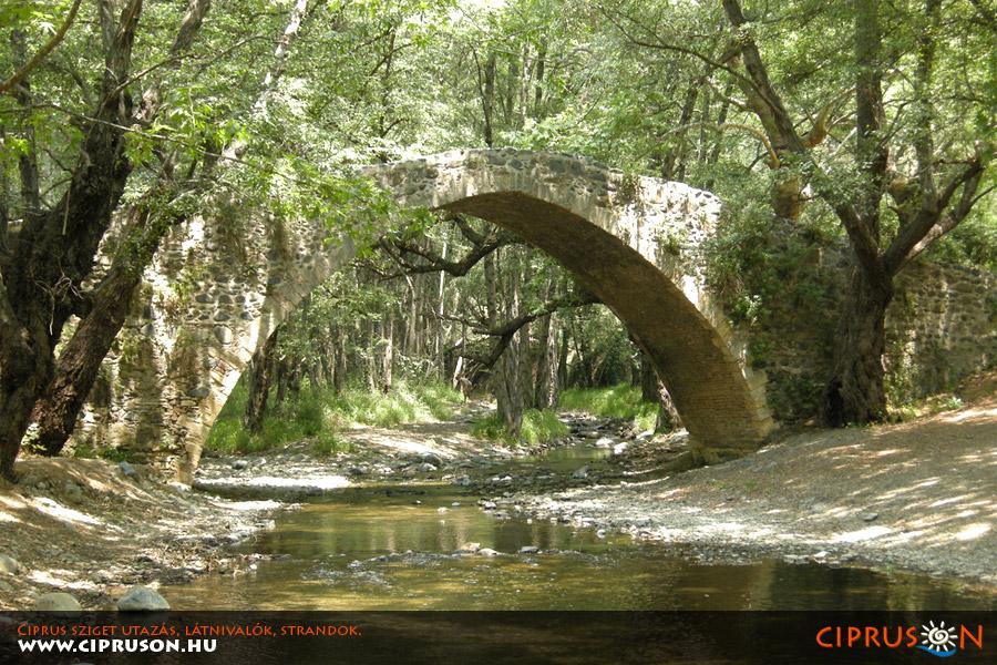 Troodos hegység Ciprus