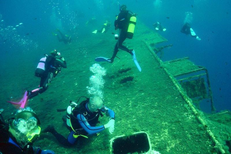 Zenobia hajóroncs, Larnaka Ciprus