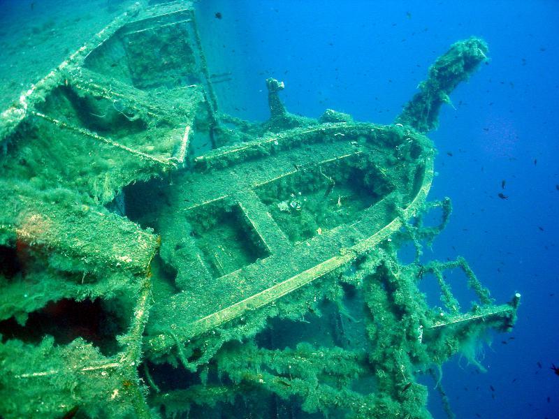 Zenobia hajóroncs, Ciprus