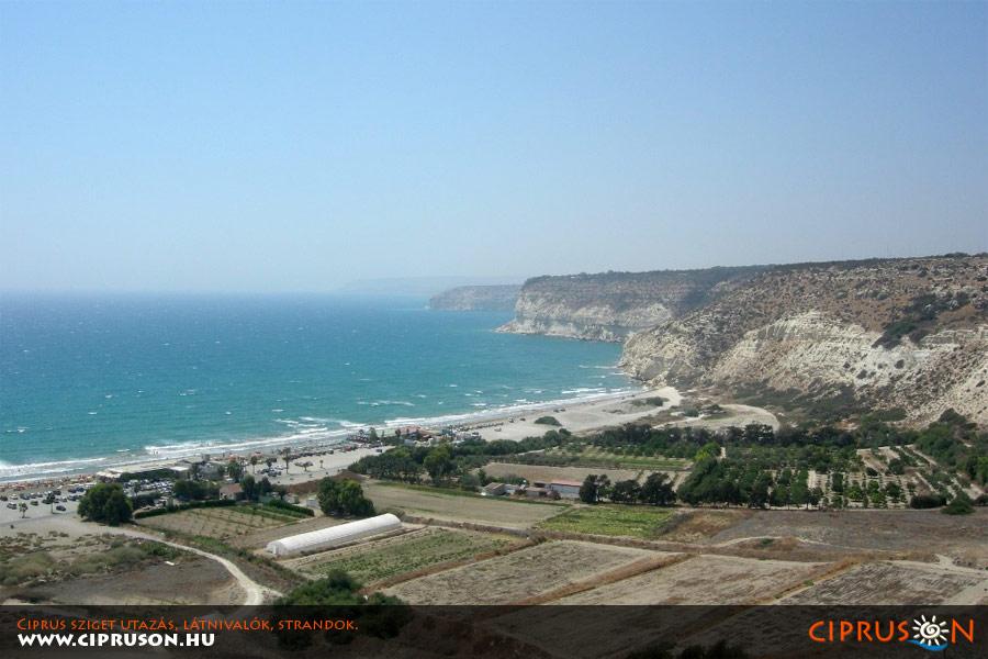 Kourion strand, Ciprus