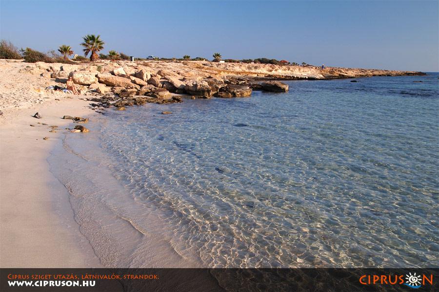 Landa strand, Ayia Napa, Ciprus