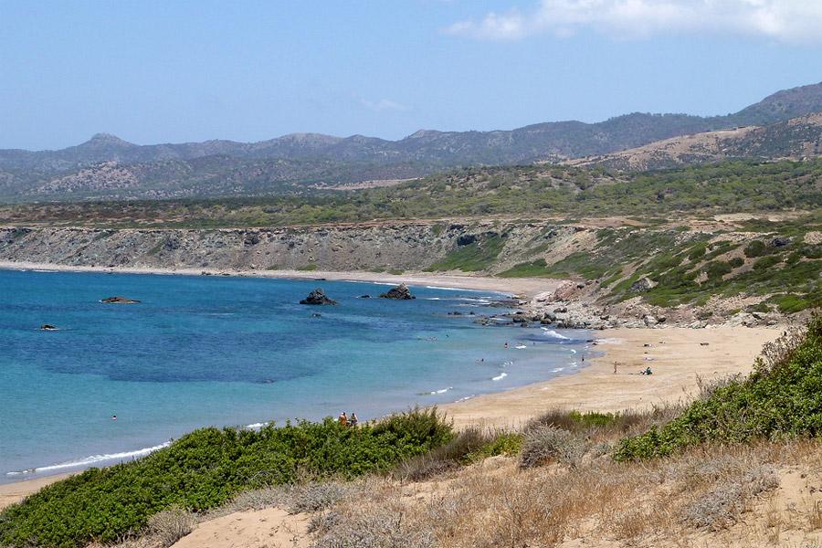 Lara öböl, Páfosz, Ciprus