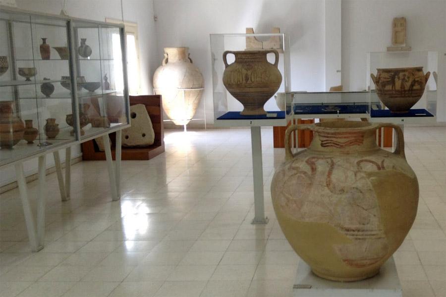 Larnaka régészeti múzeum, Ciprus