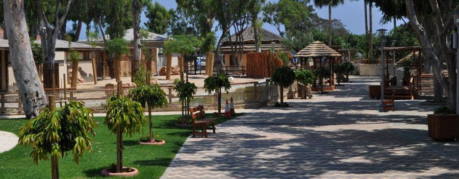 Limassol állatkert Ciprus