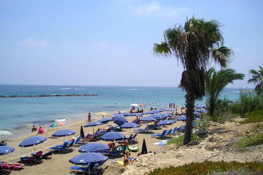 Páfosz strand, Vrysoudia