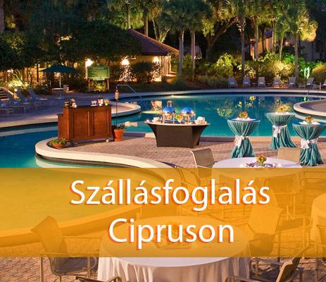 Szállások Cipruson, szállodák, apartmanok