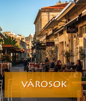 Városok Cipruson