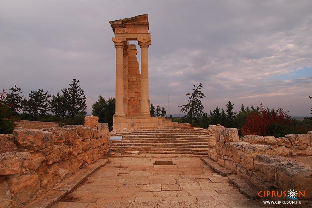 Apollo szentély Ciprus látnivalói