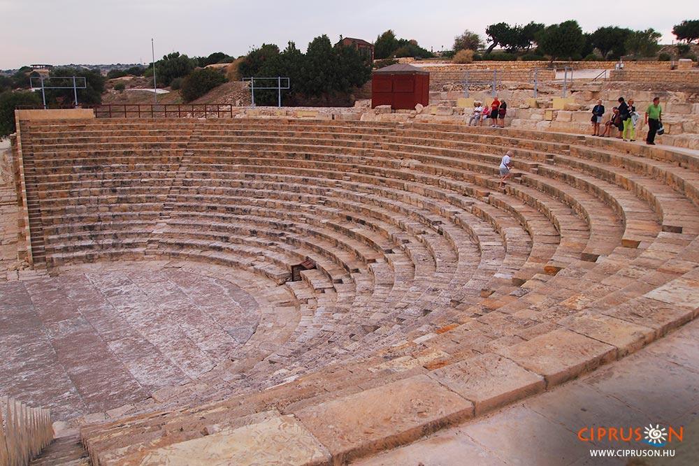 Ciprus görög színház, ókori látnivalók