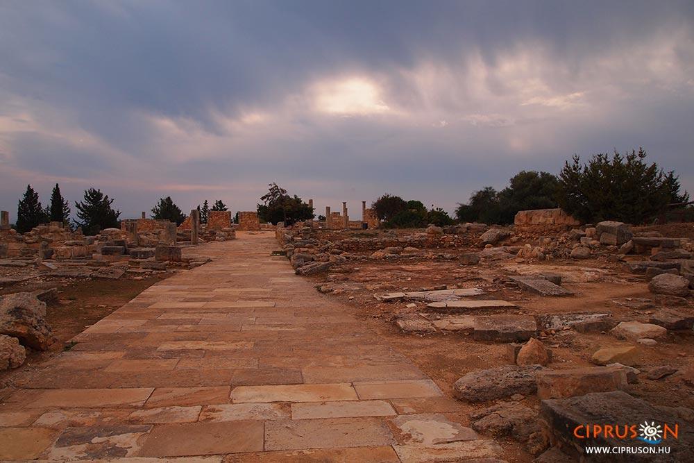 Ciprus ókori látnivalói, Apollo szentély