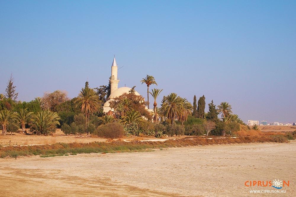Hala Sultan tekke mecset Larnaka