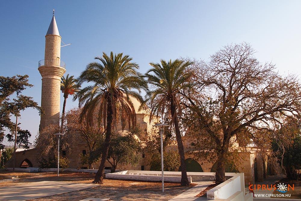 Hala Sultan Tekke mecset Larnaka egyik legjobb látnivalója