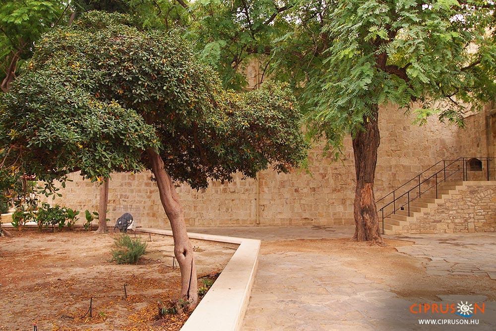Limassol vára, ahol Oroszlánszívű Richárd esküvője zajlott