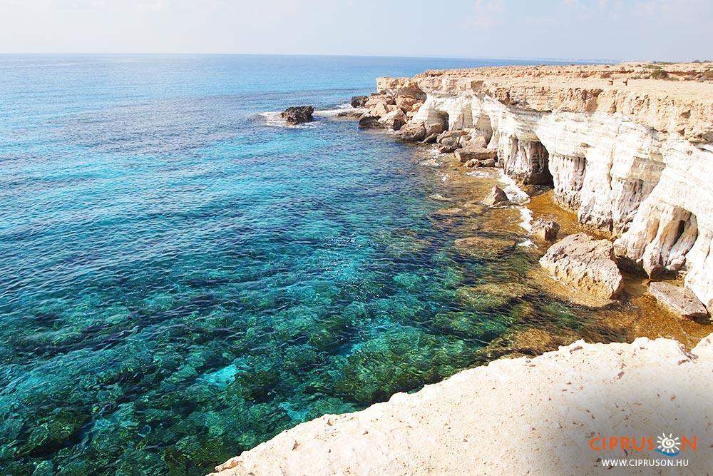 Agia Napa tengeri barlangjai