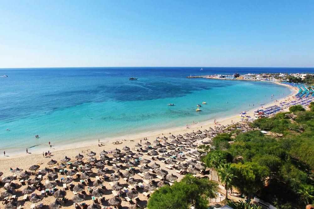 Agia Napa és Kelet Ciprus legjobb strandjai