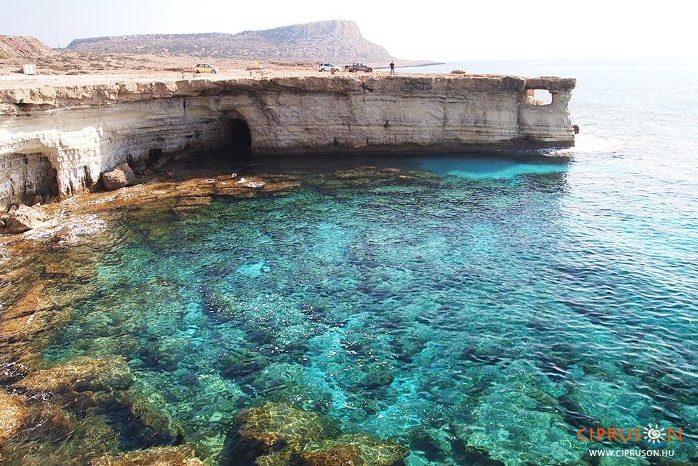 Agia Napa legszebb látnivalói a tengeri barlangok