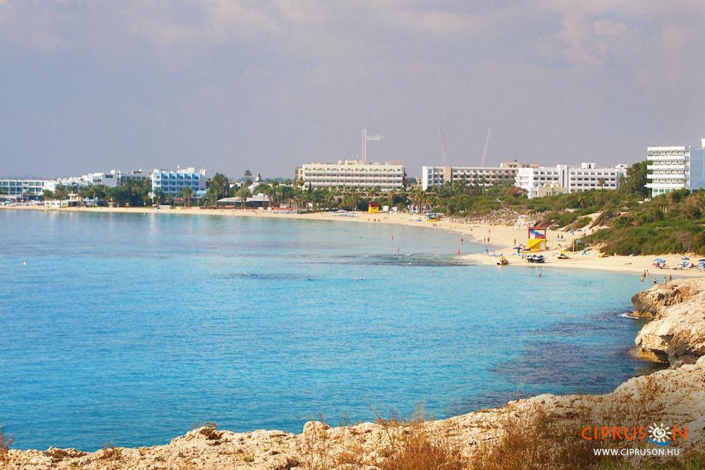 Agia Napa strandjai
